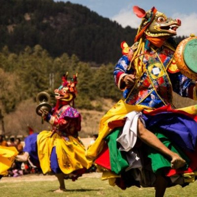 Jambay Lhakhang Drup Festival in Bhutan