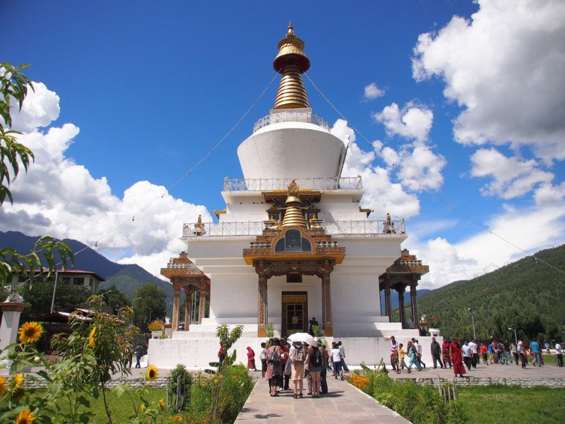 Memorial Stupa or Chorten, Thimphu